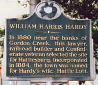 Hardy Historical Marker