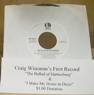 Craig Wiseman's first record